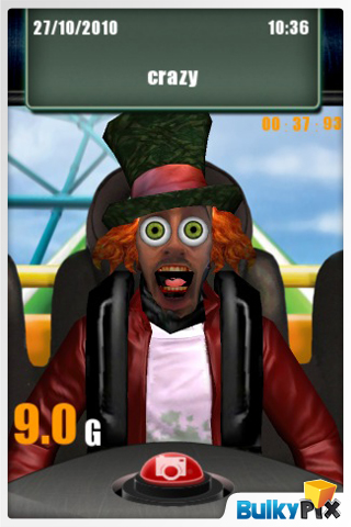 Screenshot 9G Effects: Rollercoaster FREE