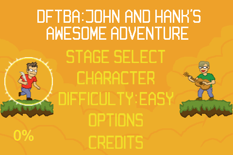 Screenshot DFTBA: John & Hank's Awesome Adventure