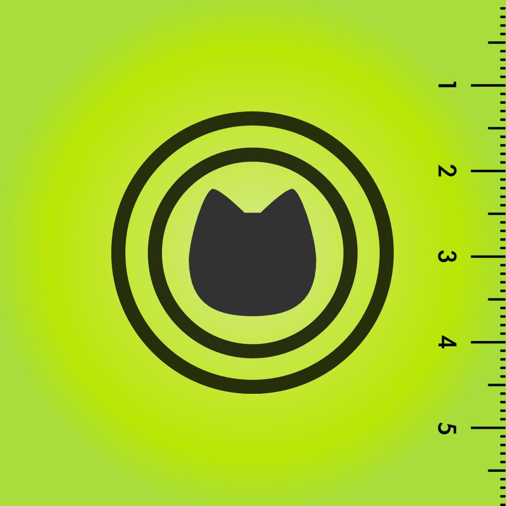 猫の水平器